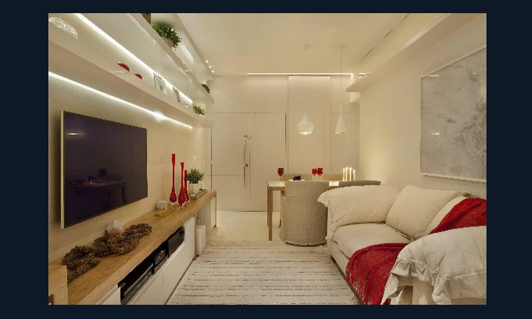 Três apartamentos compactos e suas soluções Jornal O Globo ~ Quarto Planejada Para Apartamento