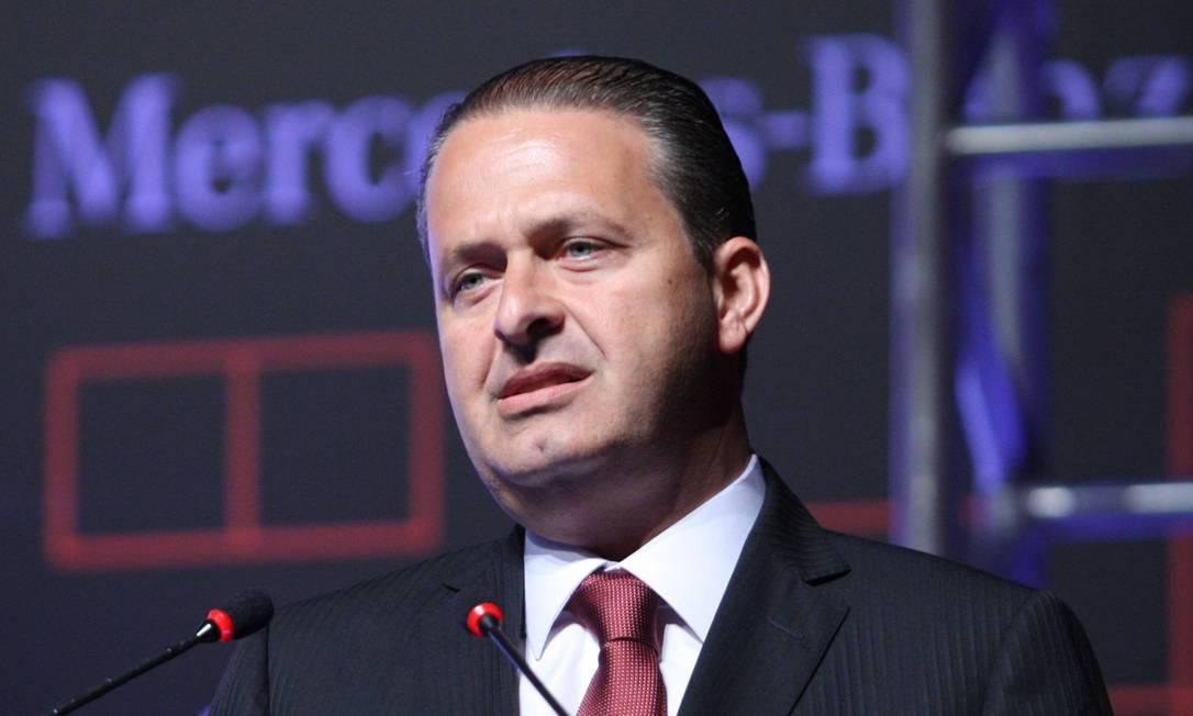 O governador do Pernanbuco, Eduardo Campos, presidente do PSB e possível candidato a presidente em 2014 Foto: Marcos Alves/O Globo