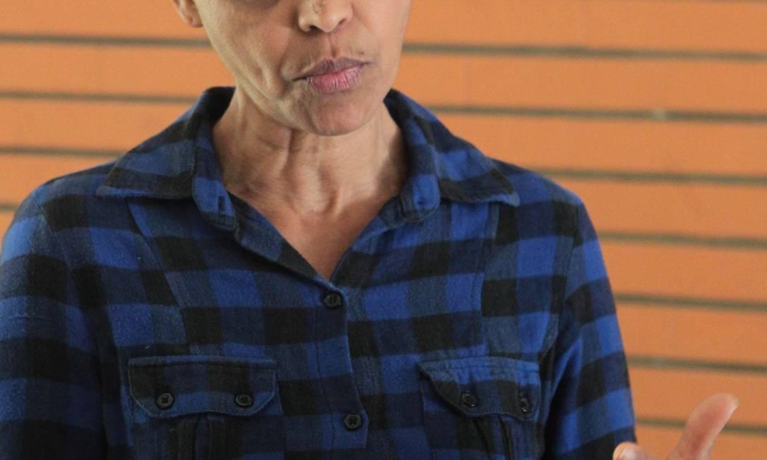 A ex-senadora Marina Silva Foto: Givaldo Barbosa / O Globo