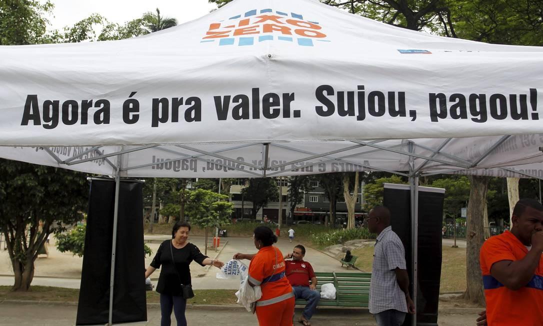 Programa Lixo Zero chega ao Méier, Zona Norte do Rio Foto: Márcia Foletto / Agência O Globo
