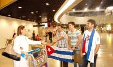 Em Fortaleza, 200 cubanos desembarcam para trabalhar no programa Mais Médicos Foto: Adail Sampaio / .