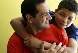 Carlos Renato Barbosa é solteiro e pai adotivo Foto: . / Camilla Maia/ O Globo