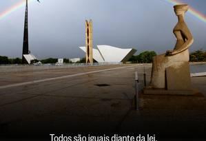 25 anos da Constituição Foto: O Globo / O Globo