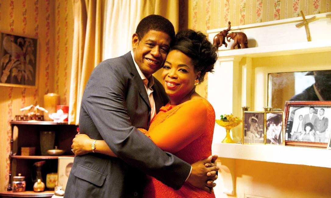 Racismo. Whitaker e Oprah vivem um casal negro que percorre o século XX e suas lutas raciais Foto: Divulgação