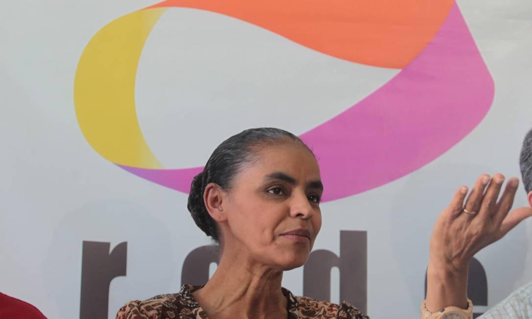 Marina pode ficar sem a Rede para as próximas eleições Foto: Givaldo Barbosa / O Globo