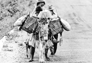 Miséria e falta de higiene nos sertões proporcionavam o cenário ideal para a disseminação da bouba Foto: Arquivo