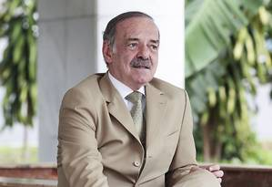 Advogado Marcilio Duarte, o criador de partidos Foto: O Globo / Jorge William
