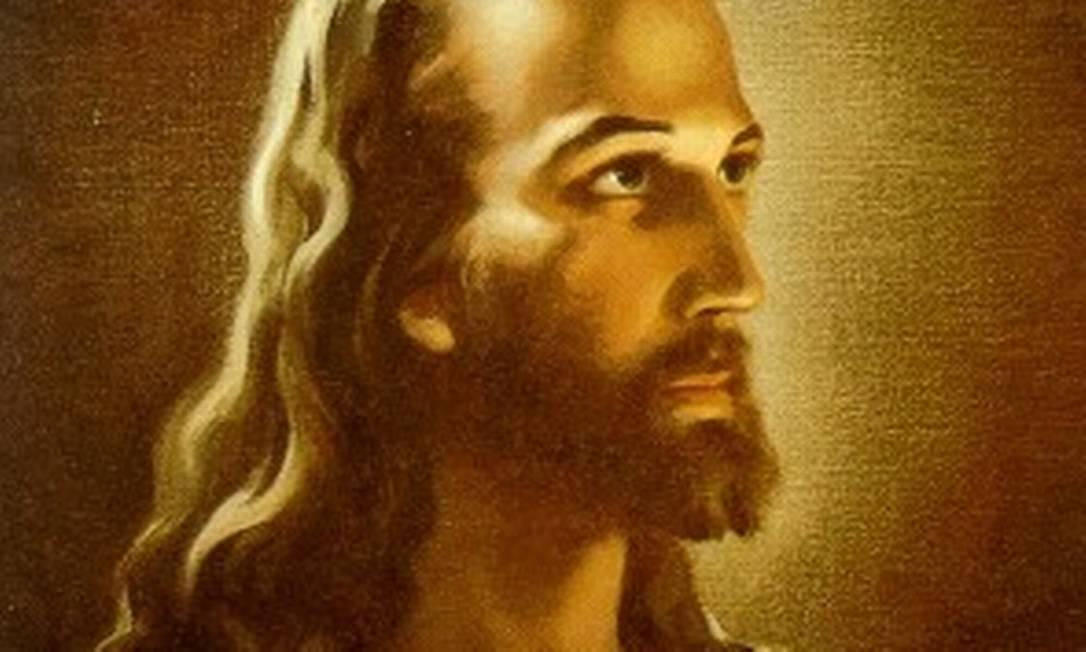 A imagem 'Head of Christ' ('Cabeça de Cristo'), que a escola em Ohio foi obrigada a remover da parede Foto: Reprodução