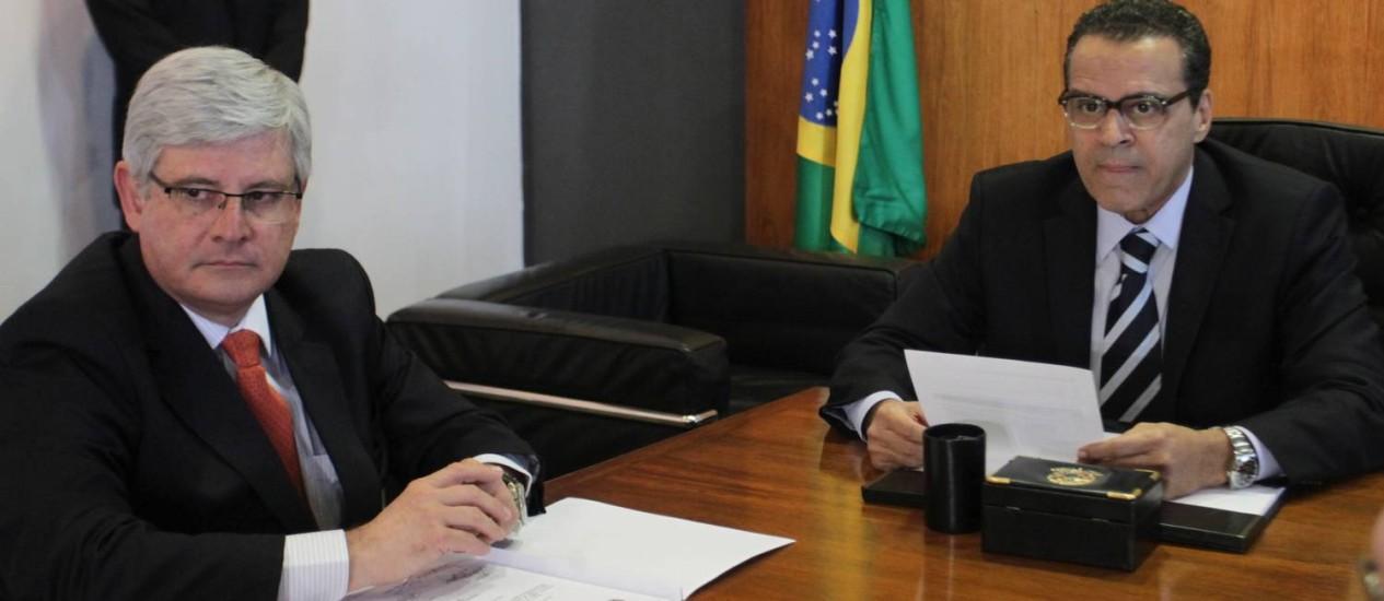 O procurador-geral da República, Rodrigo Janot: perda de mandato até para quem for para partido recém-criado Foto: Ailton de Freitas/08-10-2013