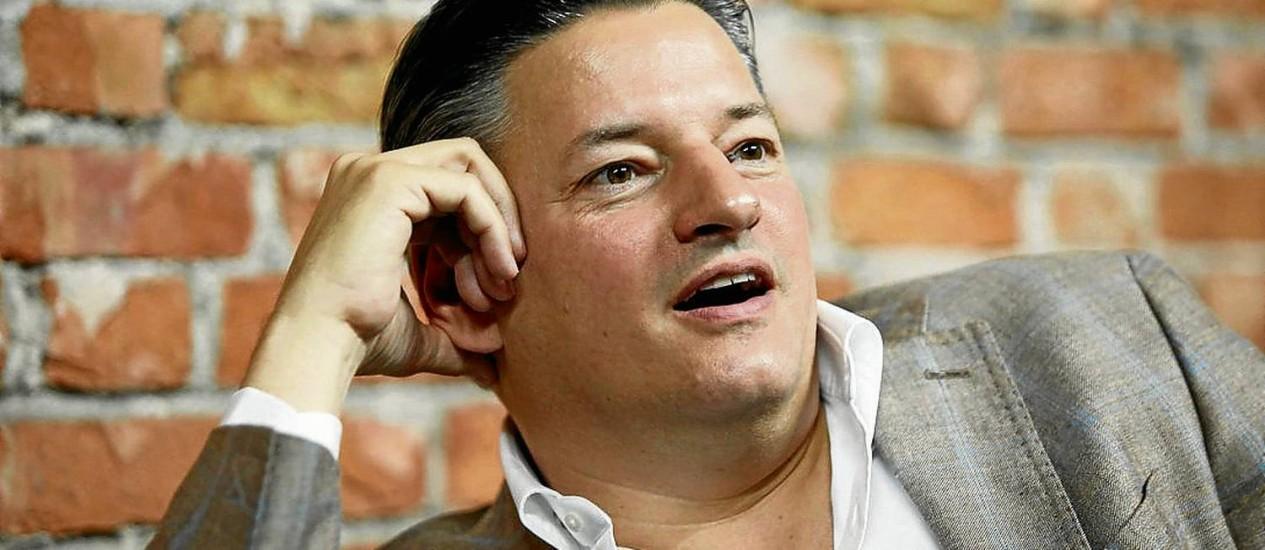 Ted Sarandos, executivo-chefe de conteúdo da Netflix Foto: Ana Branco / Agência O Globo