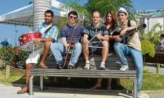 Tradição. Cinco dos 12 integrantes da banda Israel, criada há 18 anos: shows em diversas partes do país Foto: Divulgação/ Banda Israel