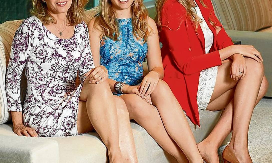 Produto interno. Angela, Sofia e Gabriela, sócias da Fabric & Co. Foto: Paula Giolito / Paula Giolito