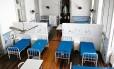 O Hospital Geral da Santa Casa, fechado pela polícia: população é prejudicada
