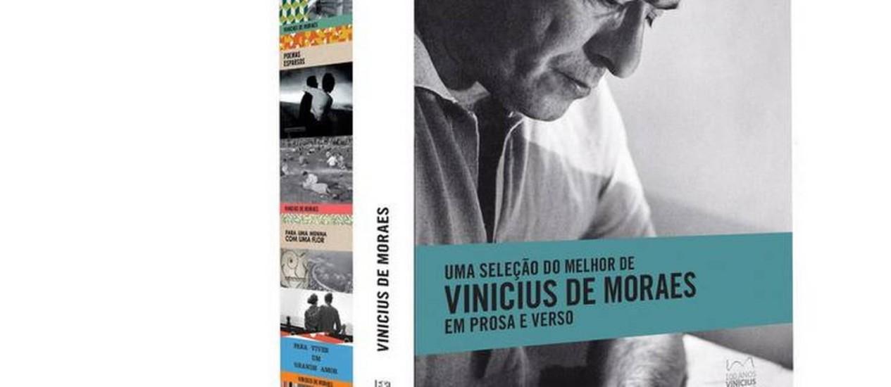 Box com quatro livros de Vinicius de Moraes, lançado pela Companhia das Letras, Foto: Divulgação