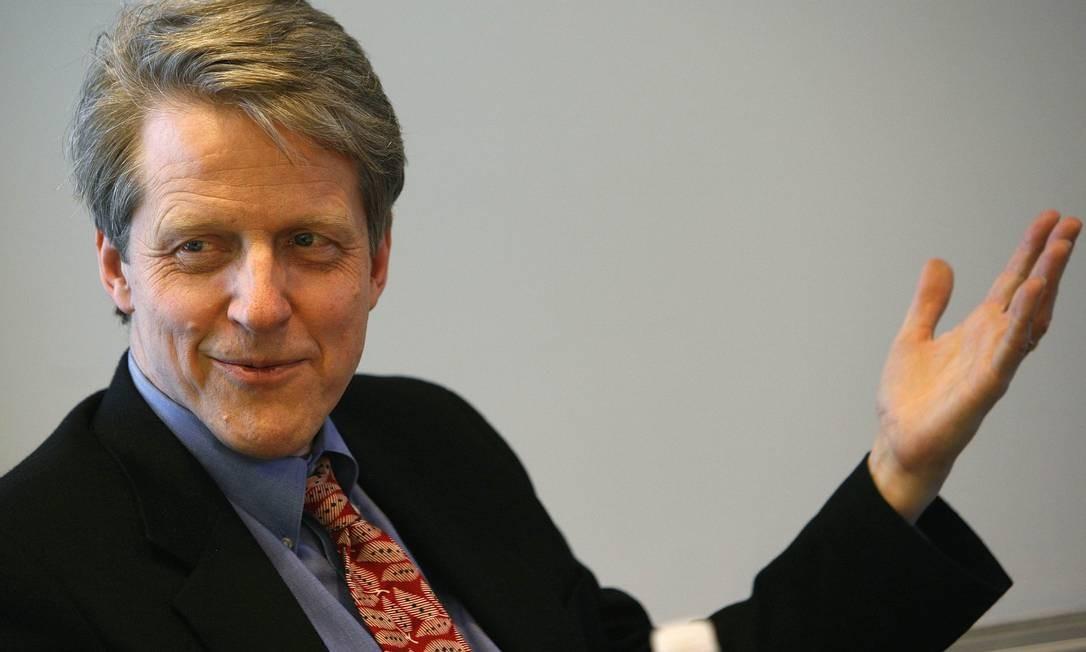 """Bolha imobiliária. """"Não tenho prova objetiva de que há uma bolha aqui, mas existe indicação de que algo acontece"""", afirmou o professor de finanças comportamentais da Universidade de Yale em palestra na cidade de Campos do Jordão (SP) Foto: BRENDAN MCDERMID / REUTERS"""