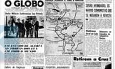 """Crise. A primeira página da edição do GLOBO em 23 de outubro de 1962: """"Kennedy revela a existência de ameaça nuclear nas Américas"""" Foto: Acervo O GLOBO"""
