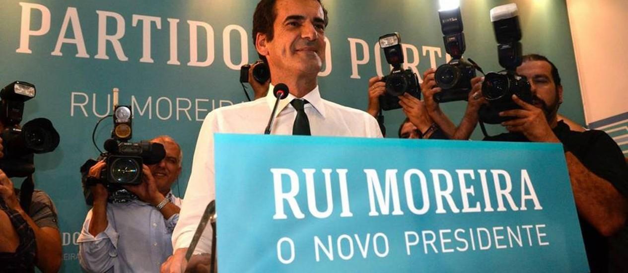 Sem partido. Rui Moreira, novo prefeito de Porto, segunda maior cidade de Portugal, toma posse dia 22 Foto: DIVULGAÇÃO