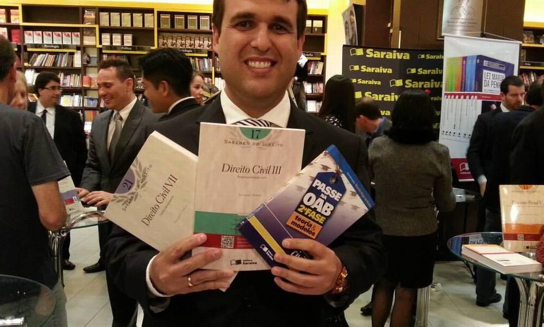 O promotor Thiago Faria Soares Foto: Reprodução/Facebook