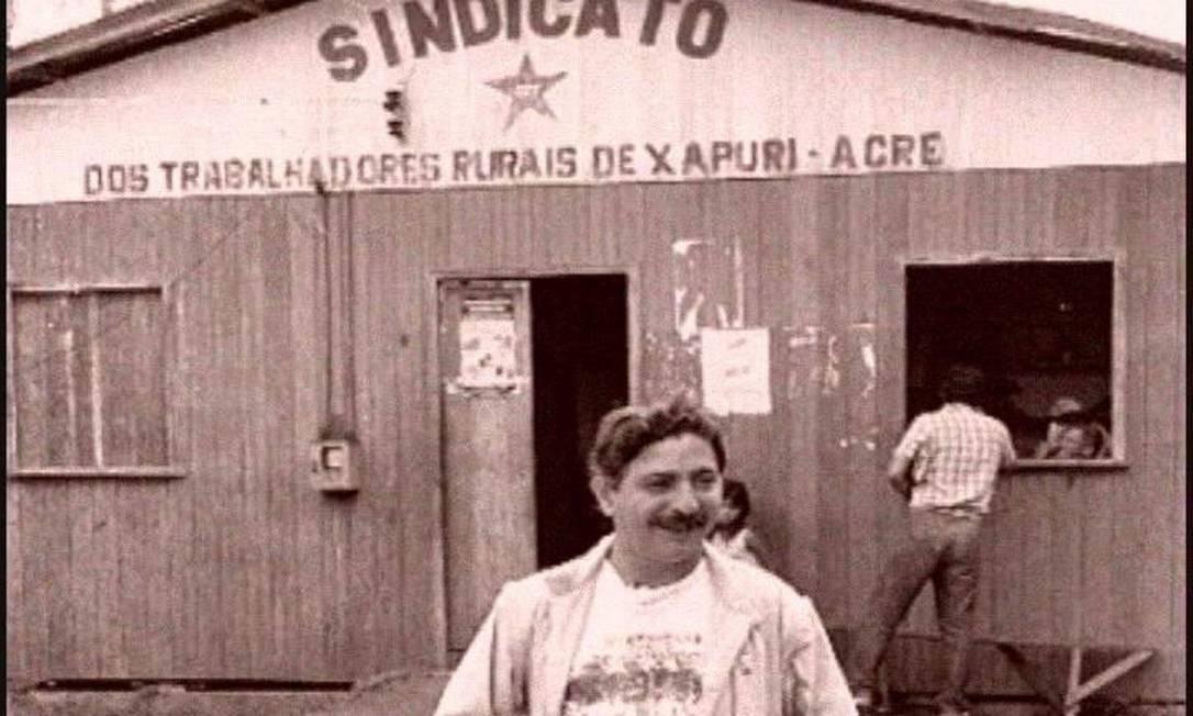 Imagem de Chico Mendes no documentário Cartas da Floresta Foto: Divulgação