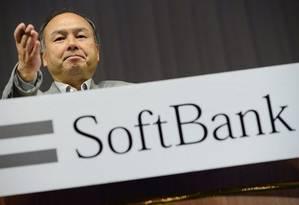 Masayoshi Son, CEO da Softbank Corp Foto: Reuters