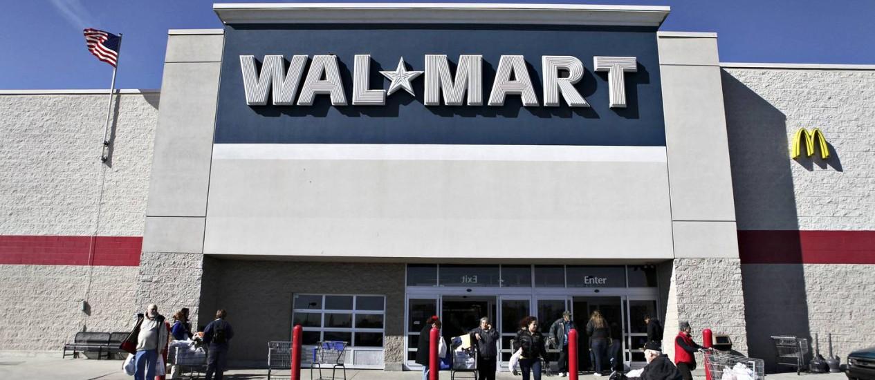 Loja em New Jersey, EUA. Empresa priorizará unidades menores no país, por causa de economia 'imprevisível', segundo diretor-executivo Foto: DANIEL ACKER / BLOOMBERG NEWS