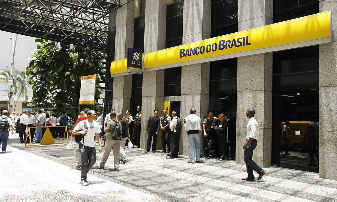 Lucro em alta. Aumento da receita financeira com operações de crédito e resultado de tesouraria. Foto: Fabiano Rocha / Agência O Globo