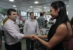 O deputado federal Washington Reis (PMDB-RJ), autor do projeto que veta gays em templos Foto: Cléber Júnior/Extra/07-06-2013