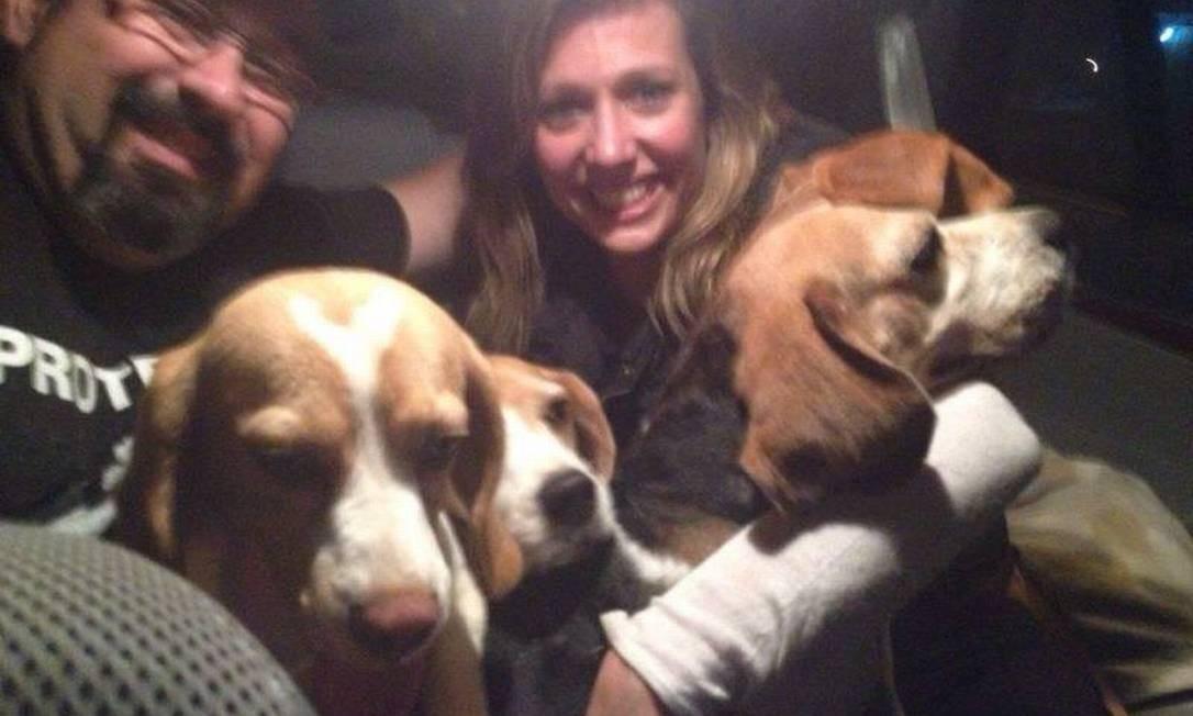 A apresentadora Luísa Mell participou do furto dos Beagles Foto: Reprodução Facebook /