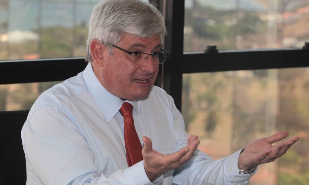 Procurador-geral da República, Rodrigo Janot Foto: Givaldo Barbosa/ Arquivo O Globo