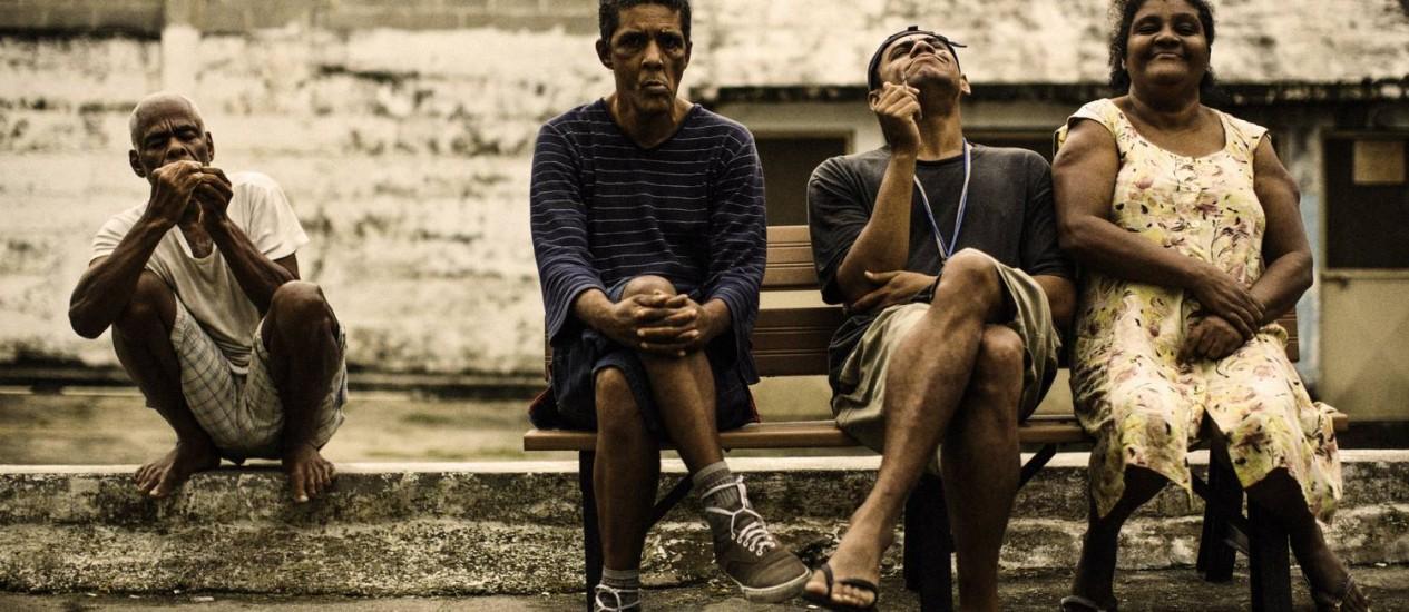 Busca difícil. Segundo médicos, internos fantasiam relatos sobre a família Foto: Fabio Seixo / Agência O Globo