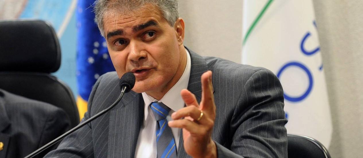 Oslain Santana disse que a Justiça e a polícia não têm estrutura para fiscalizar o atual sistema de financiamento de campanhas Foto: Marcelo Casal/Agência Brasil