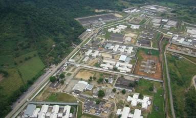 O Complexo Penitenciário de Gericinó, na Zona Oeste do Rio Foto: Rafael Ruas/ Divulgação