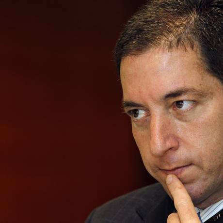 O jornalista Gleen Greenwald em painel realizado durante a 69ª Assembleia Geral da Sociedade Interamericana de Imprensa Foto: Agência O Globo