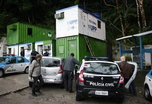 UPP da Rocinha foi palco da tortura sofrida por Amarildo de Souza Foto: Thiago Lontra / Agência O Globo