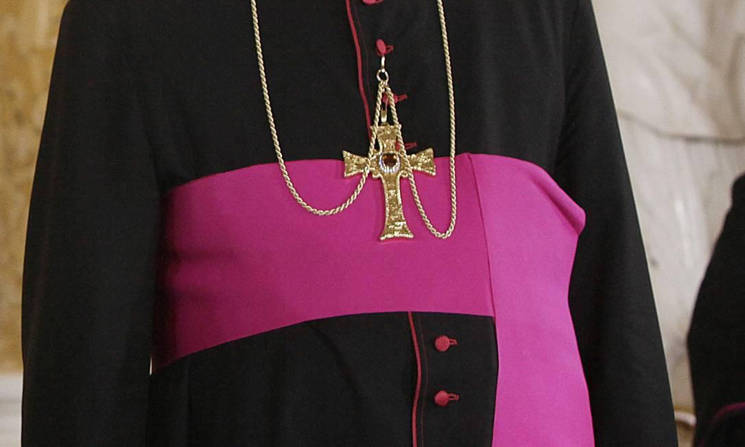 O arcebispo Jozef Michalik: declaração polêmica revoltou pais de vítimas de abusos sexuais Foto: CZAREK SOKOLOWSKI / AP/2012