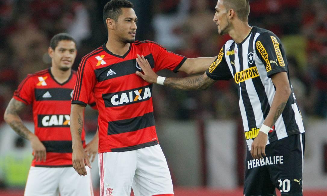 ES 23/10/2013 - Flamengo x Botafogo pela Copa do Brasil. Foto Pedro Kirilos / Agencia O Globo Pedro Kirilos / Agência O Globo