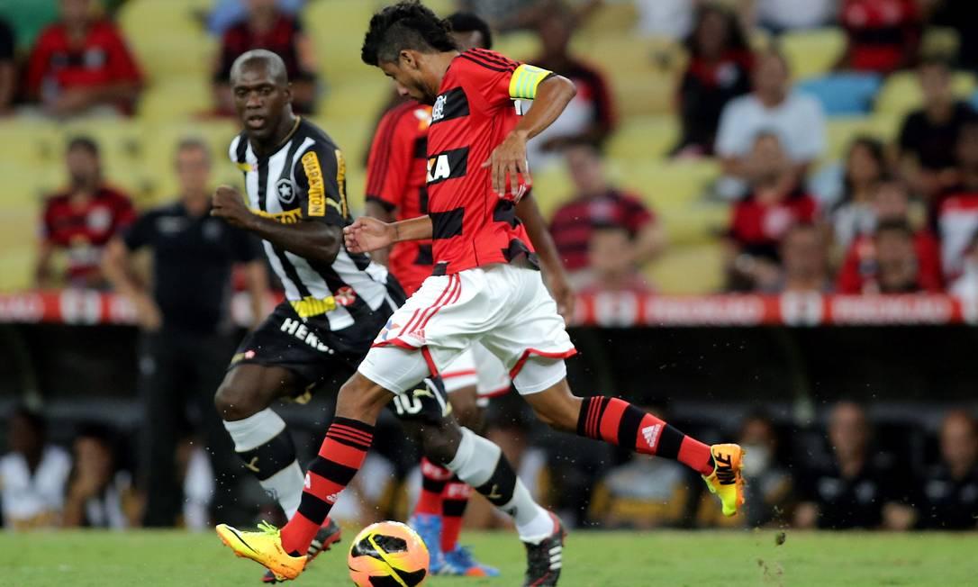 JX Rio de Janeiro (RJ) 23.10.2013 - Copa do Brasil 2013 - Botafogo X Flamengo. Local: Arena Maracanã. Foto Marcelo Theobald/Extra/Agência O Globo. Marcelo Theobald / Agência O Globo