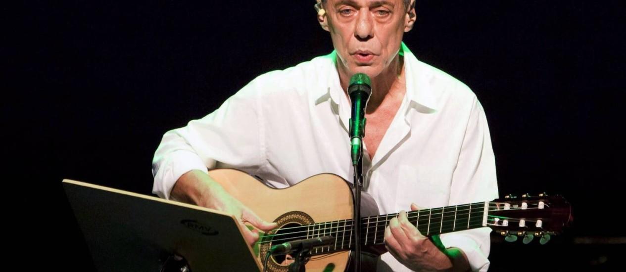 Chico Buarque Foto: Monica Imbuzeiro / O Globo