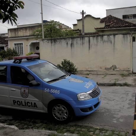 Casa onde sete foram executados era usada para consumo de drogas Foto: Bruno Gonzalez / Agência O Globo