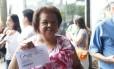 Olga Vicente da Silva, de 72 anos