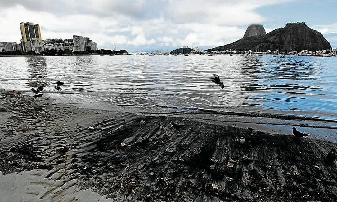 Intervenções prometem melhorar condições da Praia de Botafogo Foto: Ana Branco / Ana Branco/10.04.2012
