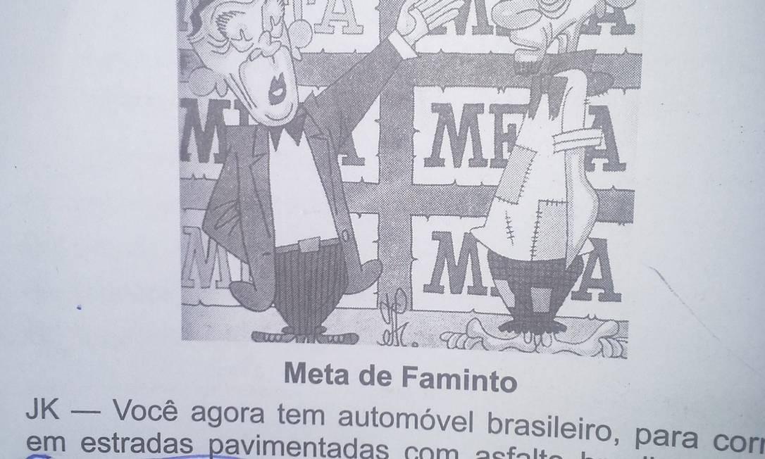 Diálogo de onde foi extraído o termo é contextualizado no Brasil dos anos 1950 Foto: Reprodução