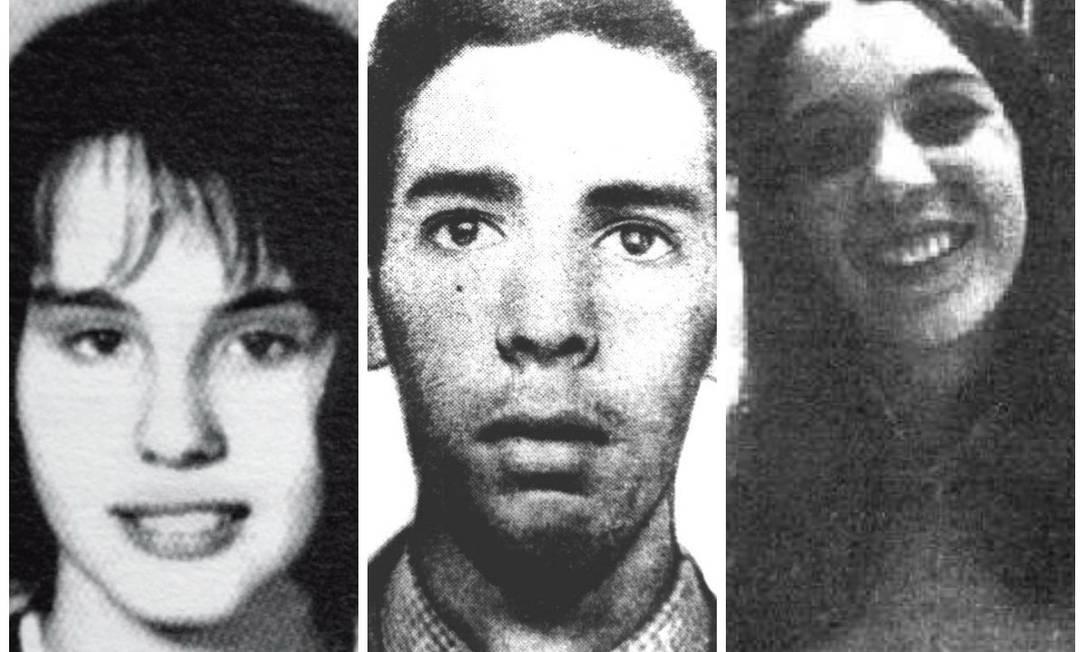 Maria Lígia, Antônio Marcos e Maria Regina são as vítimas da Chacina de Quintino