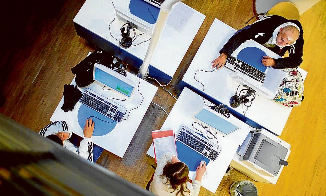 Neutralidade da rede. Artigo que garante isonomia na navegação, ponto nevrálgico para o relator, corre risco de cair Foto: Terceiro / Bloomberg