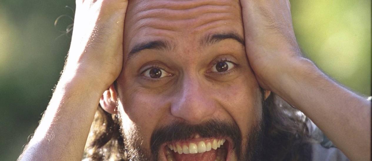 Para o cantor, só há uma resposta errada na questão do Enem que usava sua música Foto: Ricardo Gomes / Arquivo O Globo