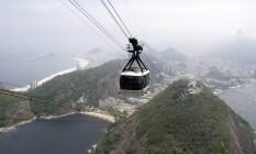 O bondinho do Pão de Açúcar Foto: Felipe Hanower / O Globo