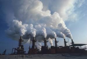 As emissões a partir de carvão continuam a aumentar, mas a uma taxa menor do que em anos anteriores Foto: Latinstock