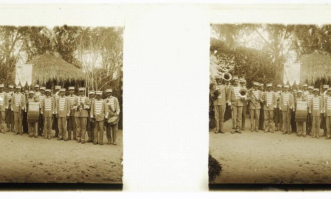 Banda marcial Foto: Acervo do Museu Imperial