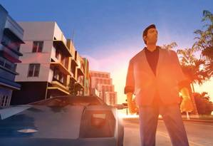 """""""Grand theft auto: Vice City"""" Foto: Reprodução"""
