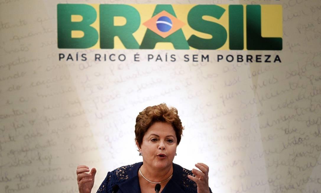 A presidente Dilma Rousseff Foto: AFP/30-10-2013